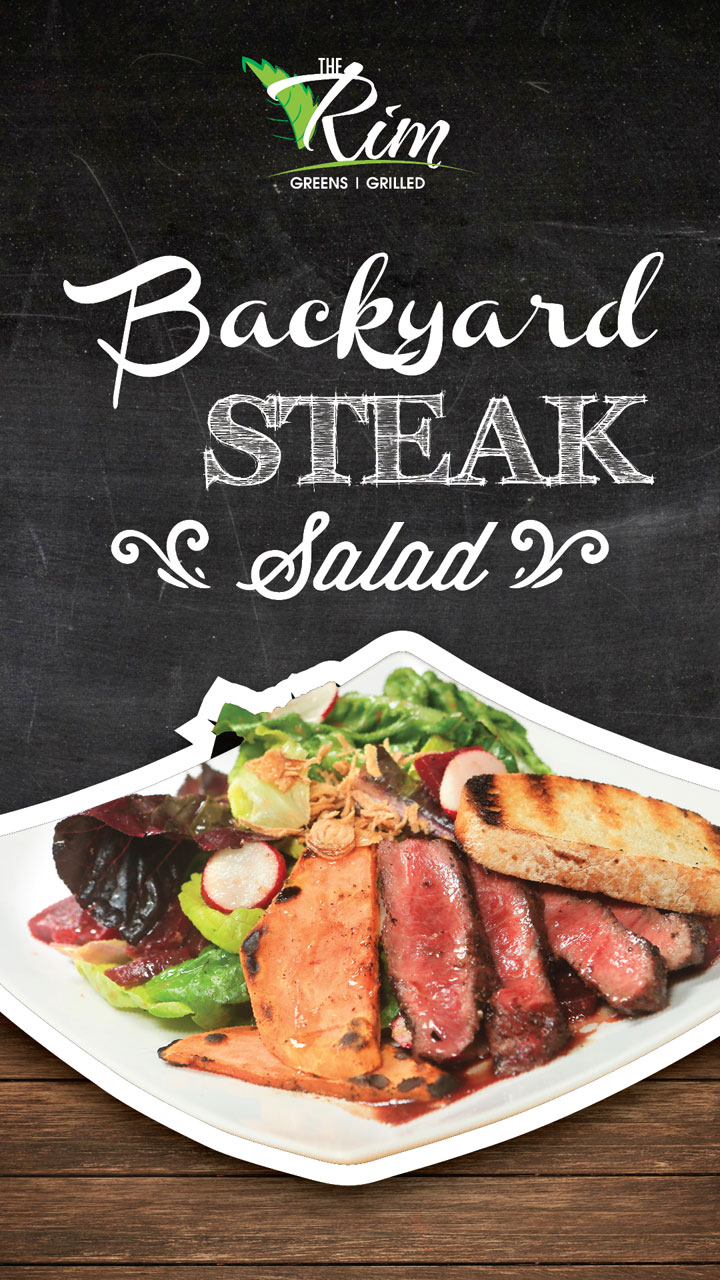 Backyard Steak Salad
