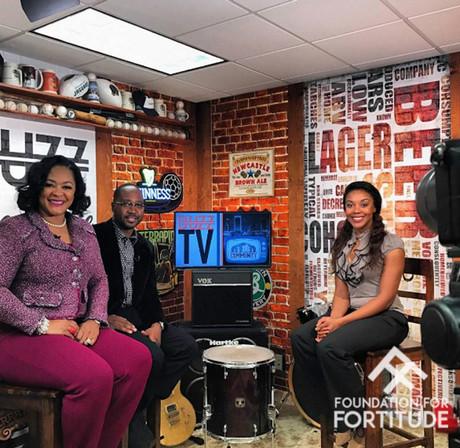 Sherry H. Blue and Gene Dot Com on Buzz TV Jacksonville