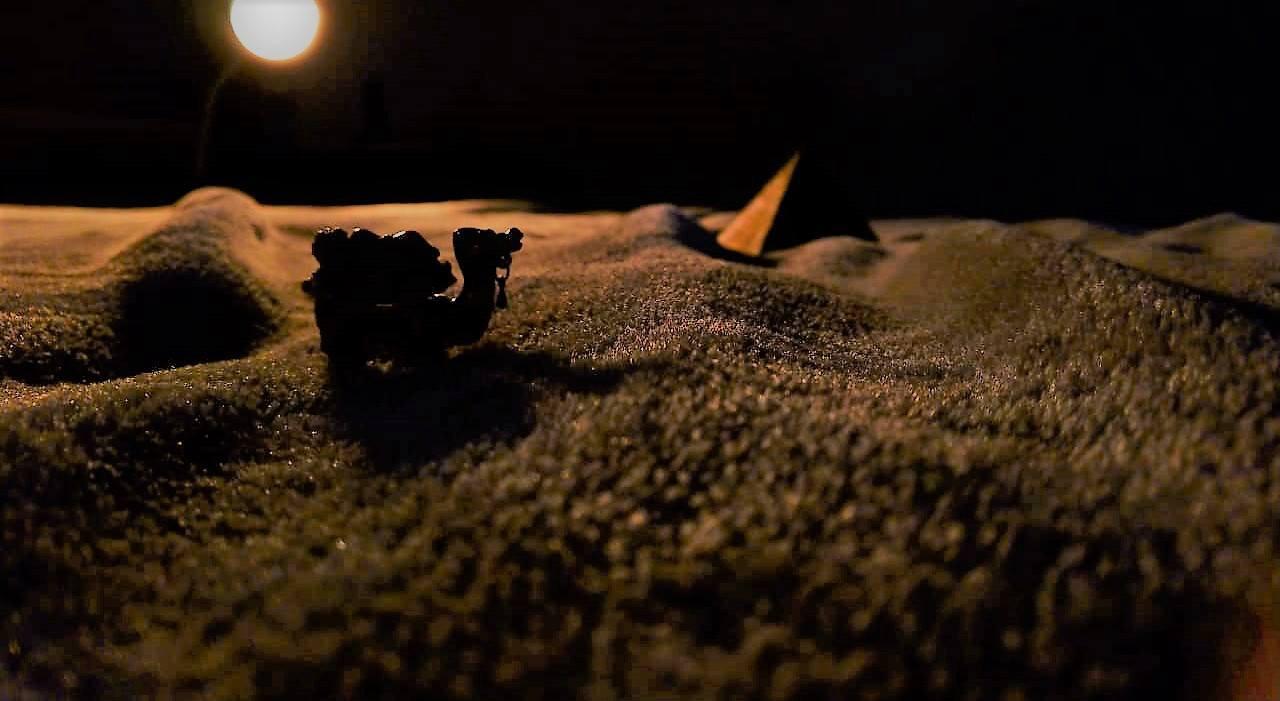 Serenidade na beleza do Deserto - Sara F