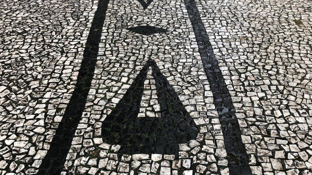 texturas e desenhos do piso