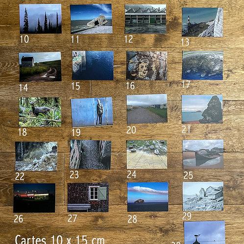 8 Cartes postales au choix