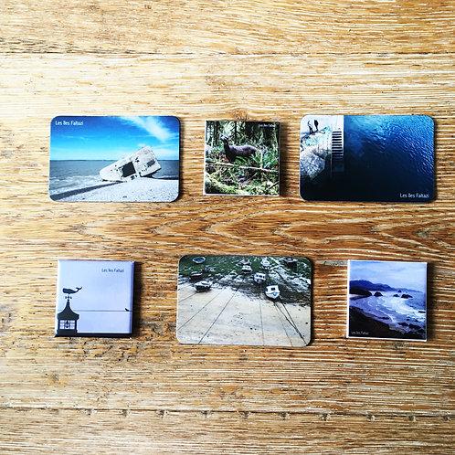 Collection de 6 Magnets