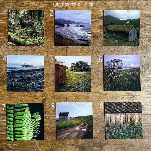20 Cartes postales au choix