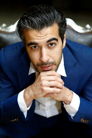 Le comédien Othmane Moumen