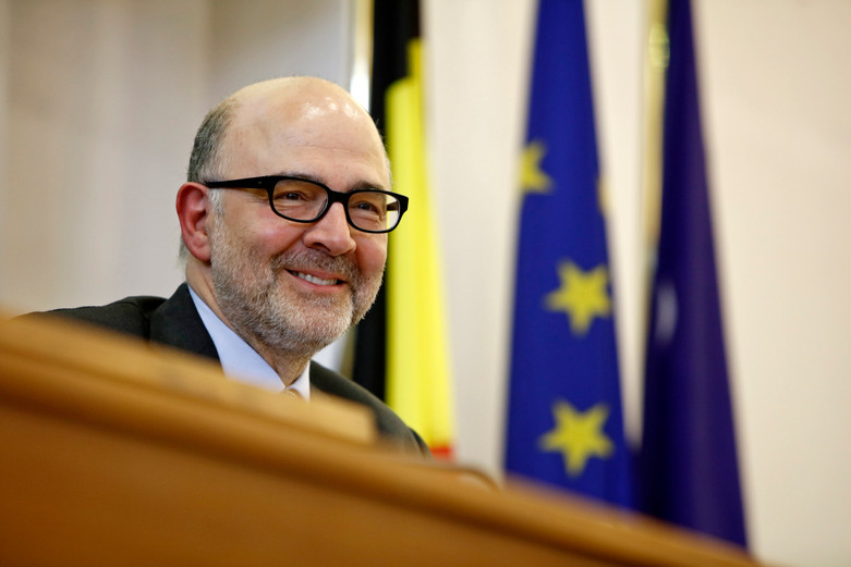 Pierre Moscovici, 2017
