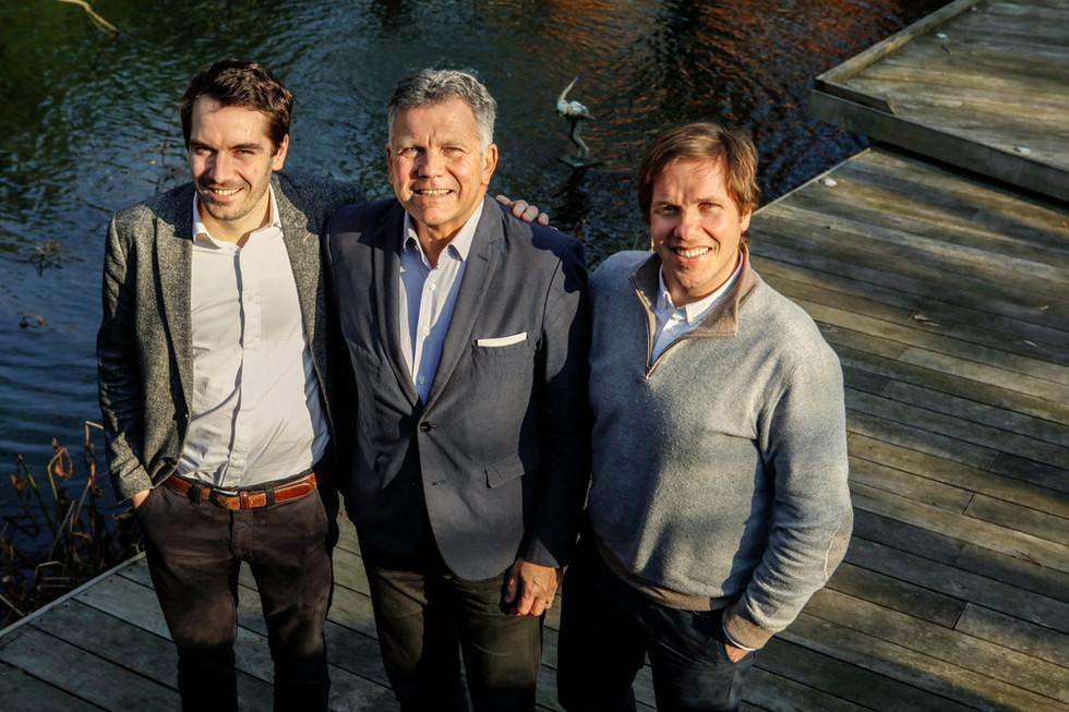 Famille Bruyr, pour PUB Magasine