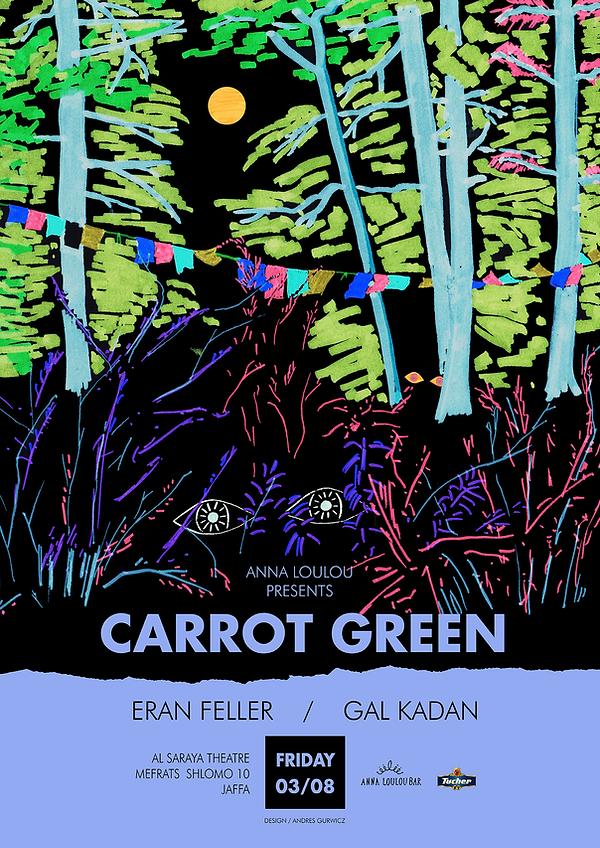 Poster 2 - carrot green - annaloulou - 1