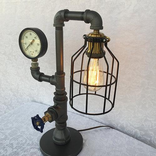 Steampunk Table Lamp 1SUT17P5X13