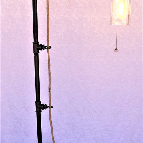 Industrial Floor Lamp with Pulley 11SUF12P5X6P25