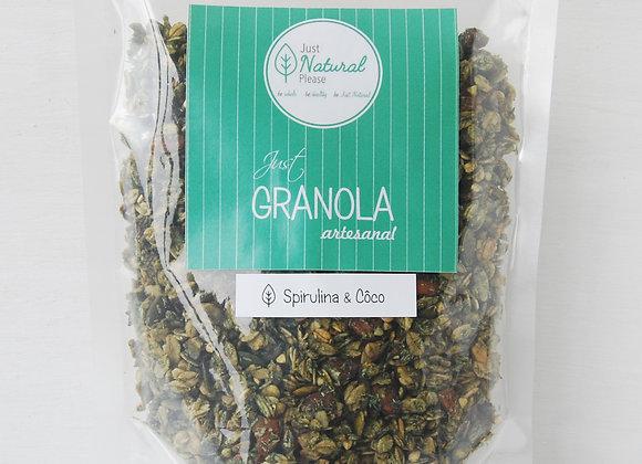 Just Granola Spirulina & Coco 400 g