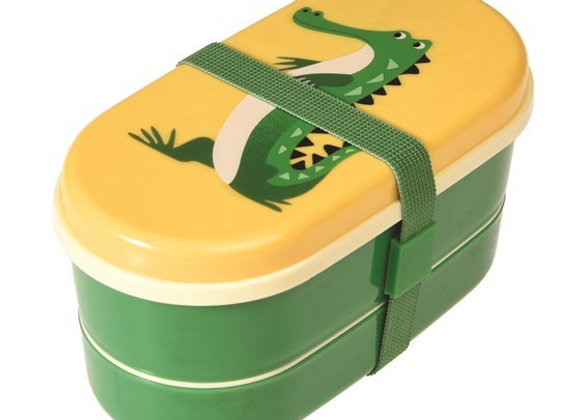 Marmita Bento box Crocodilo