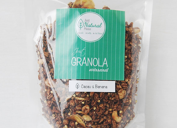 Just Granola Cacau & Banana 400 g
