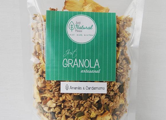 Just Granola Ananás & Cardamomo 400 g