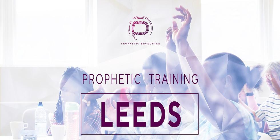 Leeds Prophetic Training School - Saturday 18th January 2020 - 2.30-4.30pm