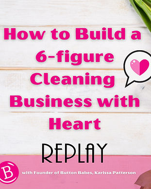 How to build a cleaning business with he