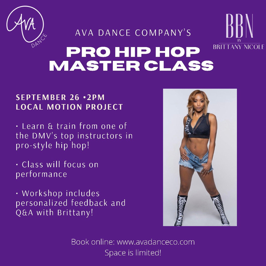 9/26: Pro Hip Hop Master Class with BBN