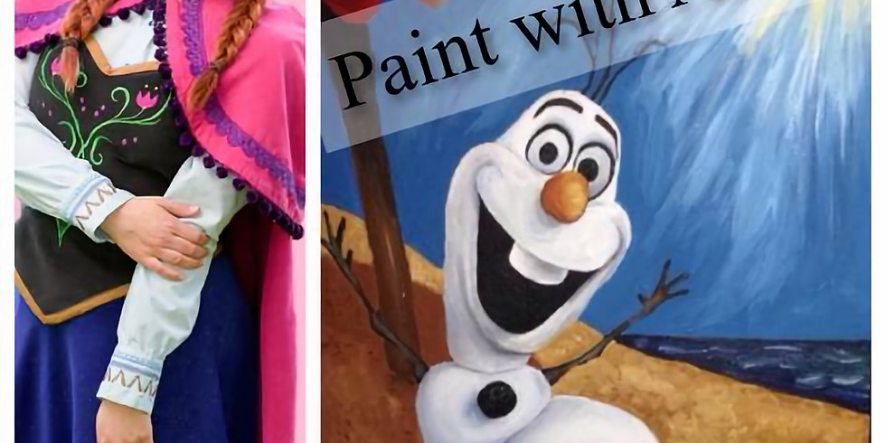 Paint with Princess Anna!