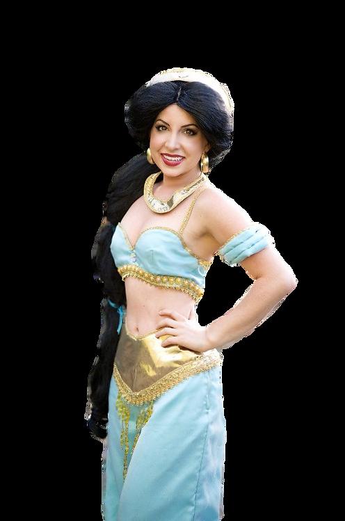 Arabian Princess Jasmine Party Character