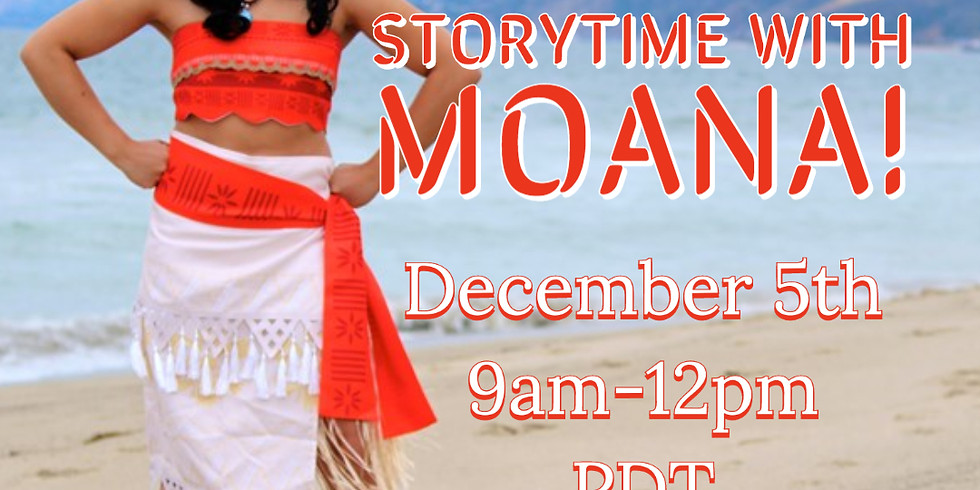 Live Chat and Storytime with Moana!