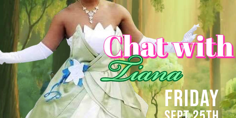 Personal Zoom Chat with Princess Tiana!