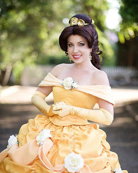Belle Beauty and the Beast Disney Princess Party Character Performer