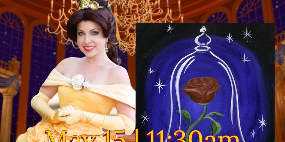 Learn to Paint with Belle!