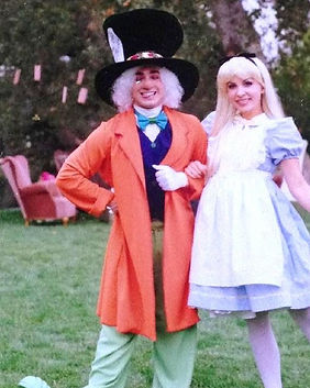 Mad Hatter Alice in Wonderland Party Character performers