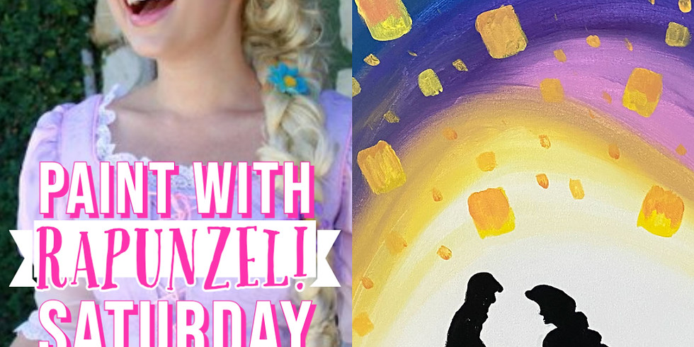 Learn to Paint with Rapunzel!