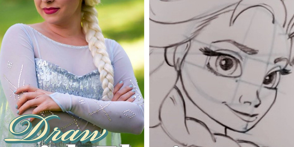 Learn to Draw with Elsa!