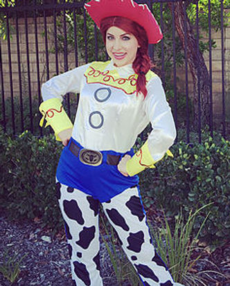 Toy Story Jessie Cowgirl Party Character Performer