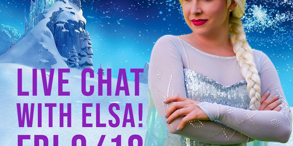 Bedtime Stories with Elsa! Eastern Time Zone