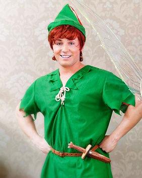 Peter Pan Character Performer for Children's Parties