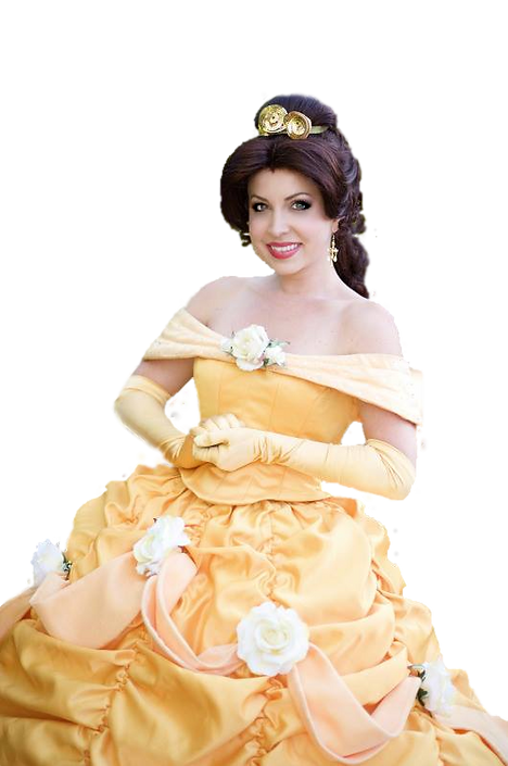 Belle Princess Beauty and the Beast Party Character Performer