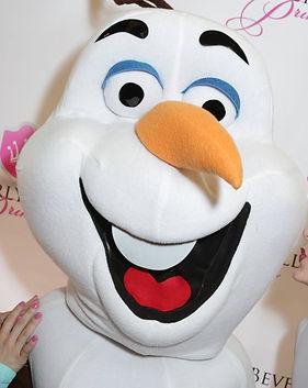 Olaf Snowman Mascot Frozen Disney Princess Party Character Performer