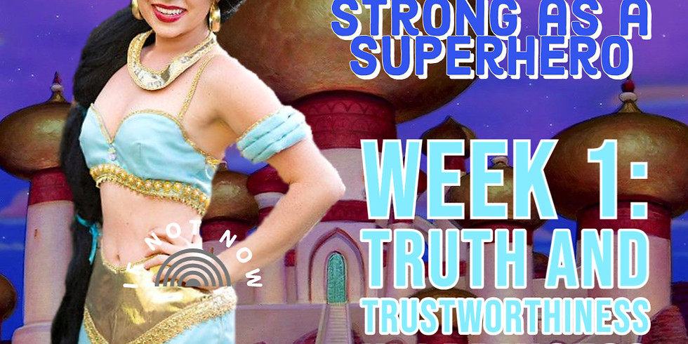 Truth, Trustworthiness, and Table Manners w/ Princess Jasmine!