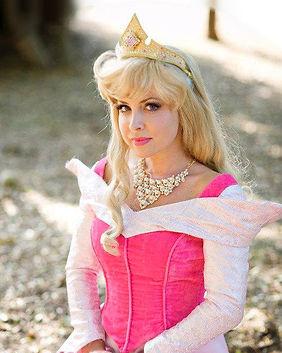 Sleeping Beauty Princess Aurora Disney Princess Party Character Performer