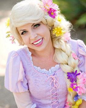 Rapunzel Tangled Disney Princess Party Character Performer