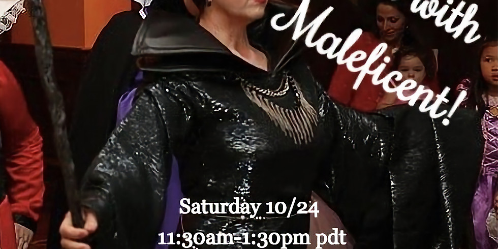 Personal Zoom Chat with Maleficent!