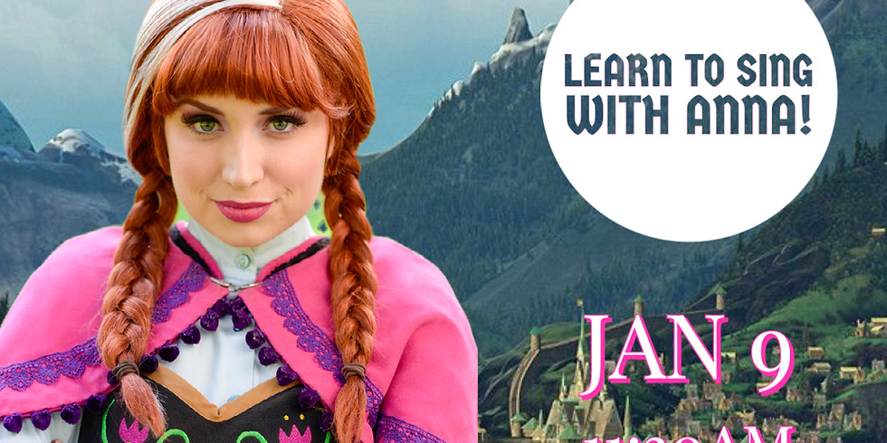 Learn to Sing with Anna!