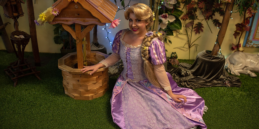 Chat and Draw with Rapunzel!