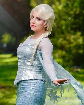 Snow Queen Elsa Frozen Disney Princess Party Character Performer