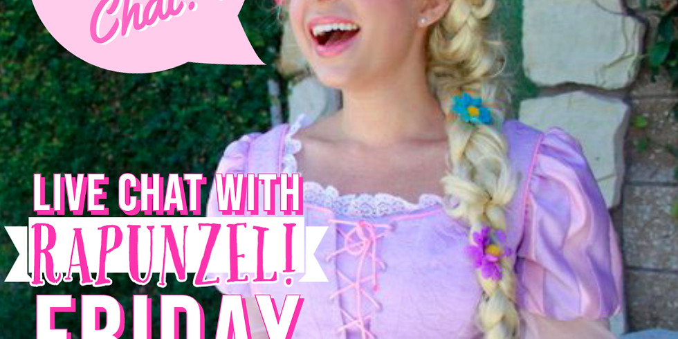 Personal Zoom Call with Rapunzel