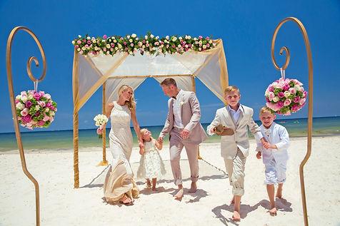Royalton Riviera Cancun Beach Wedding.jp