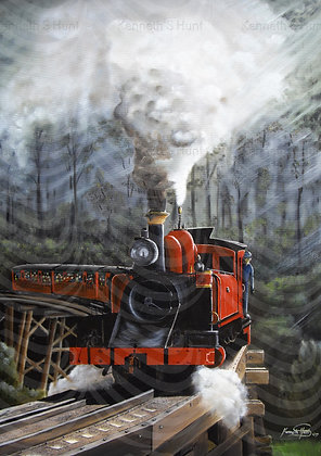 8.Puffing Billy