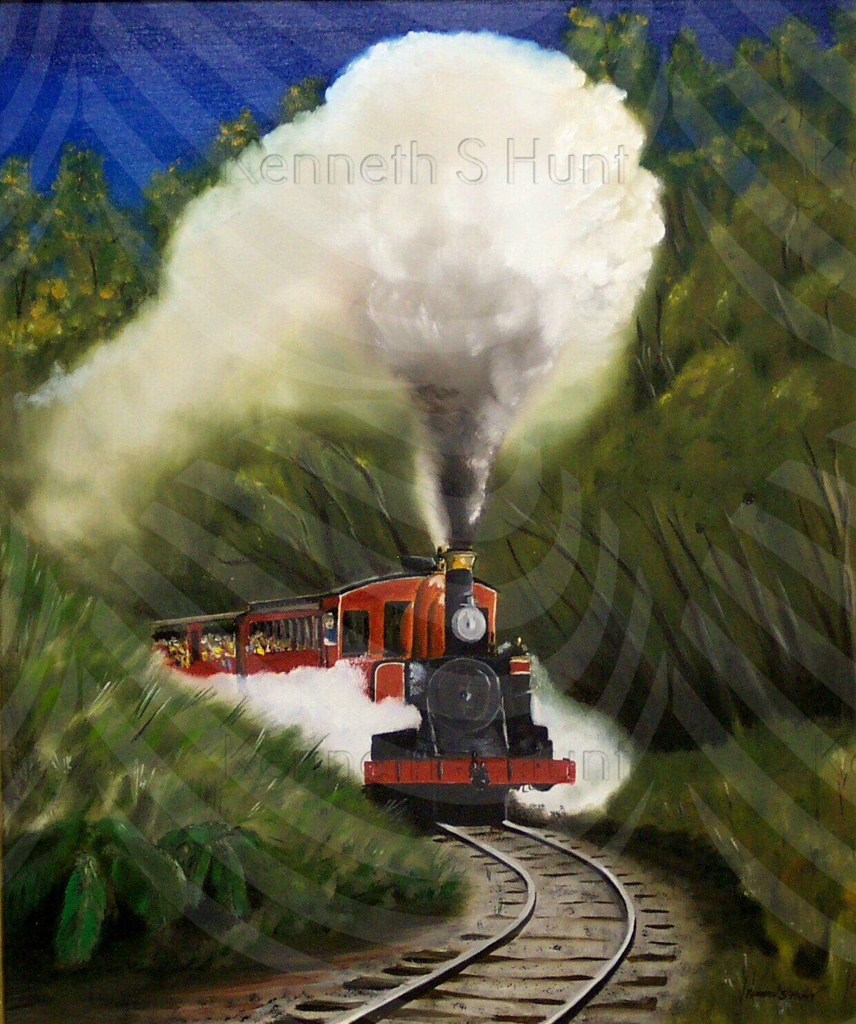 50 Puffing Billy 1