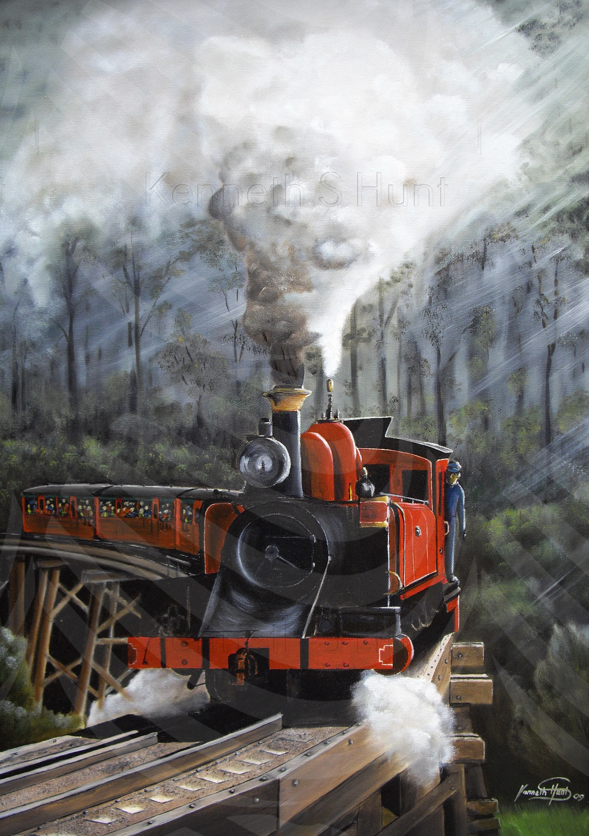 8. Puffing Billy