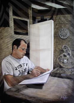 113 Ken Self Portrait