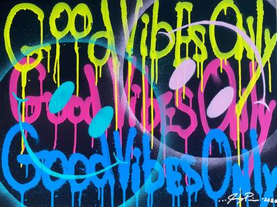 Neon Good Vibes