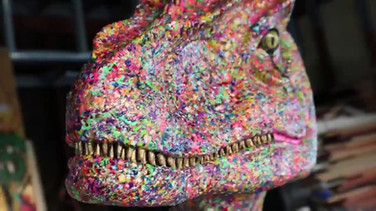 Jurassic Canvas by Jimmy Pierce