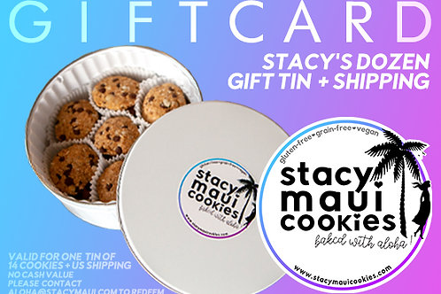 Gift Card: Stacy's Dozen Gift Tin (14 Cookies)